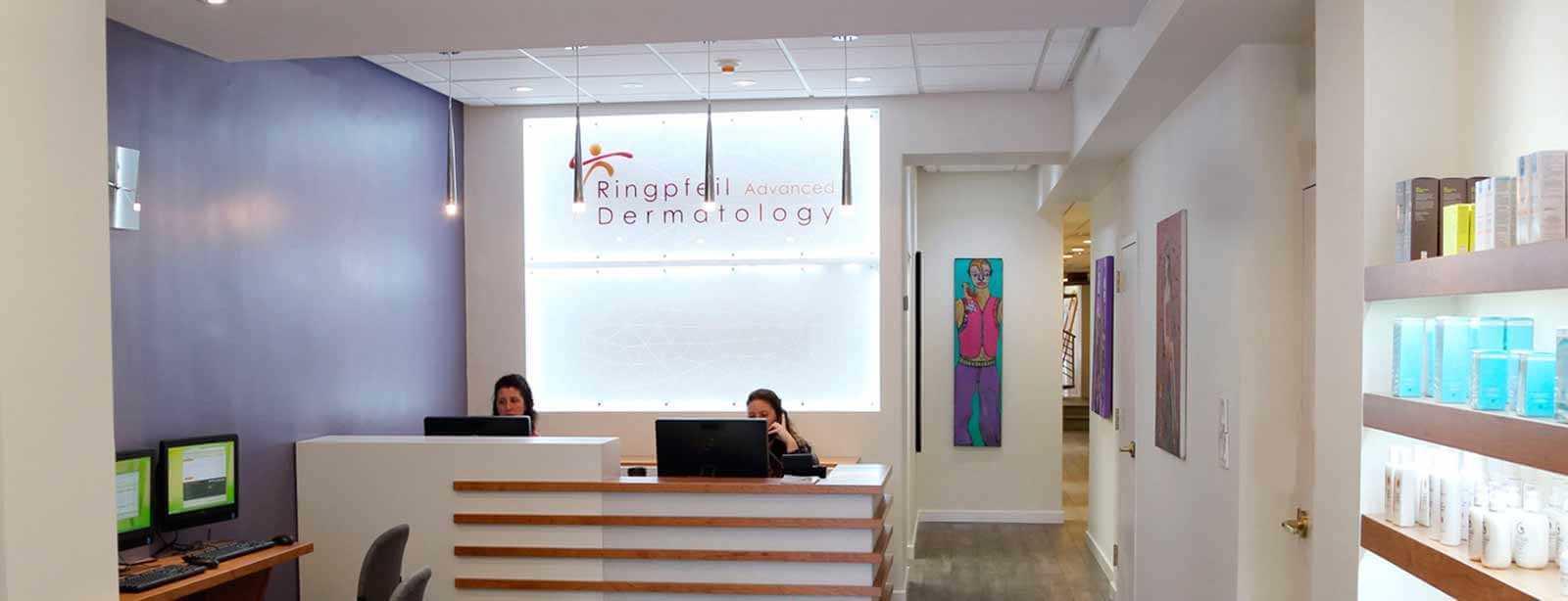 Best dermatologist in philadelphia top dermatology center pa for Dermatology clinic interior design